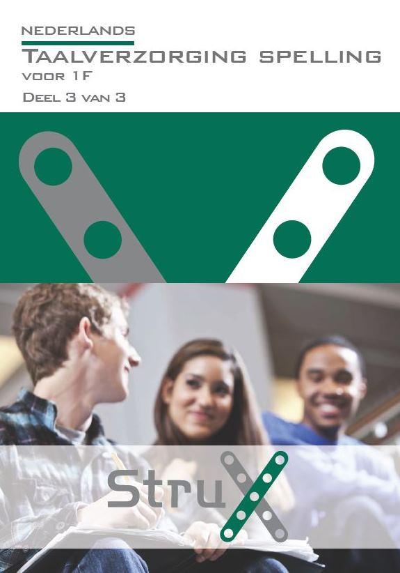 Afbeelding van Nederlands Taalverzorging 1F Spelling - deel 3