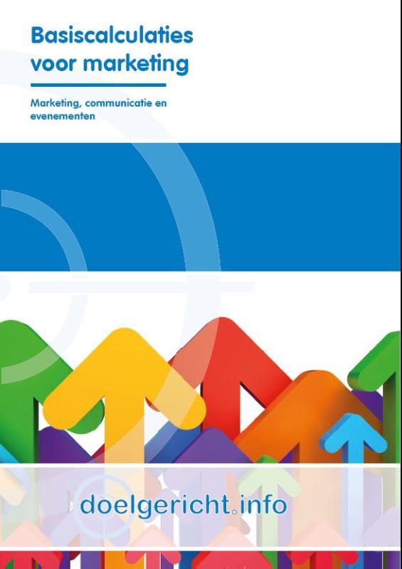 Afbeelding van Basiscalculaties voor marketing