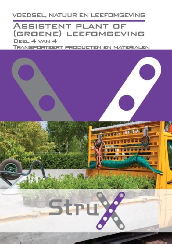 Afbeelding van Assistent plant of (groene) leefomgeving - deel 4 - Transporteert producten en materialen