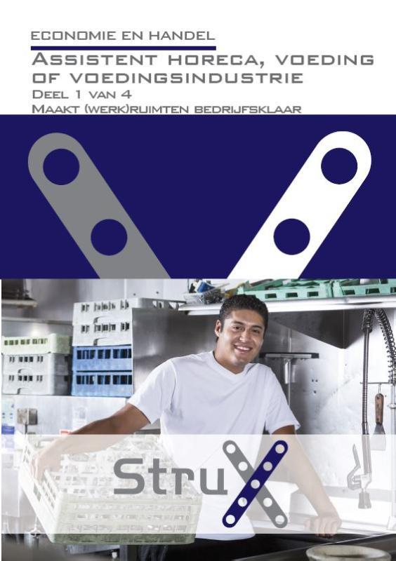 Afbeelding van Assistent horeca, voeding of voedingsindustrie - deel 1 - Maakt (werk)ruimten bedrijfsklaar