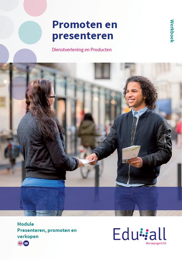 Afbeelding van Promoten en presenteren | module Presenteren, promoten en verkopen