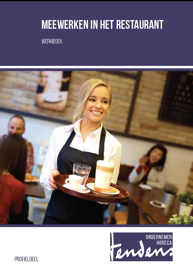 Afbeelding van Meewerken in het restaurant - werkboek   Editie 2018