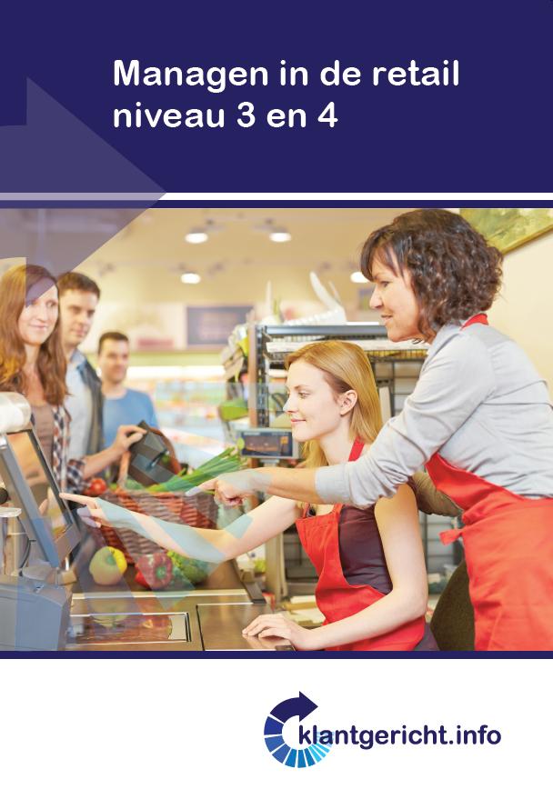 Afbeelding van Managen in de retail niveau 3 en 4
