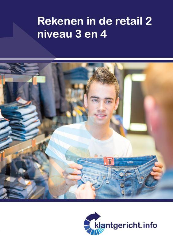 Afbeelding van Rekenen in de retail 2 - niveau 3 en 4
