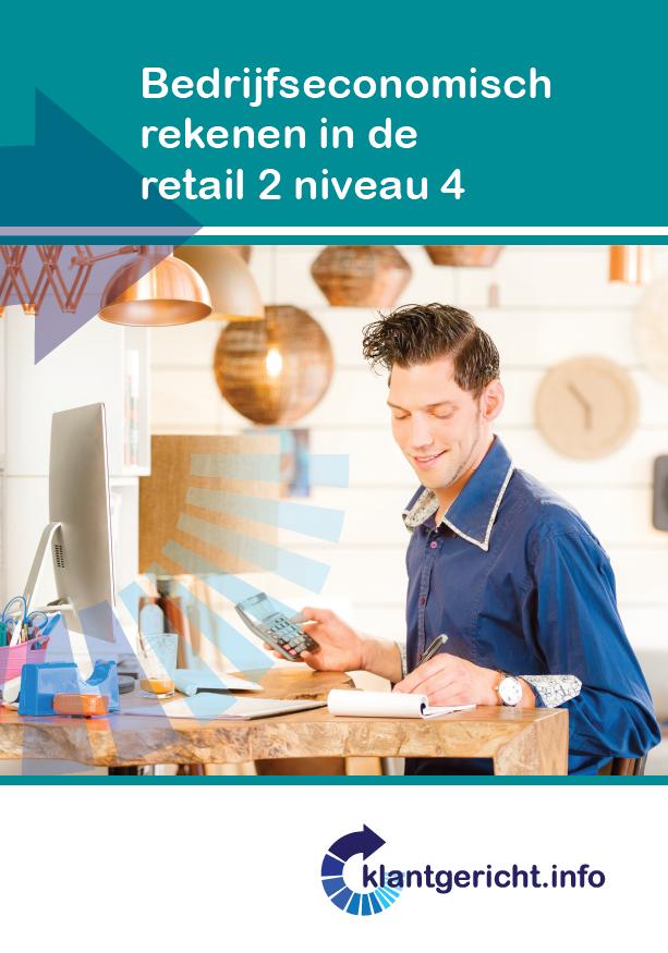 Afbeelding van Bedrijfseconomisch rekenen in de retail 2 - niveau 4