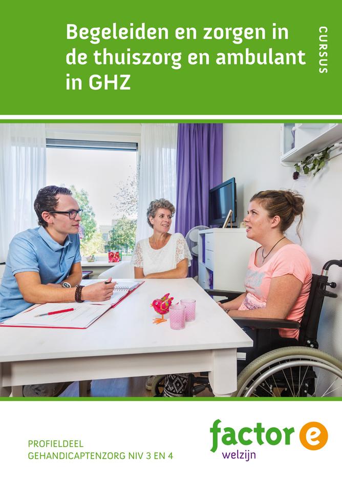 Afbeelding van Begeleiden en zorgen in de thuiszorg en ambulant in GHZ