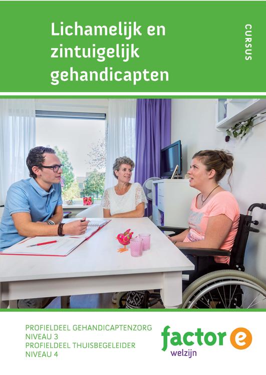 Afbeelding van Lichamelijk en zintuigelijk gehandicaptenbeperkten