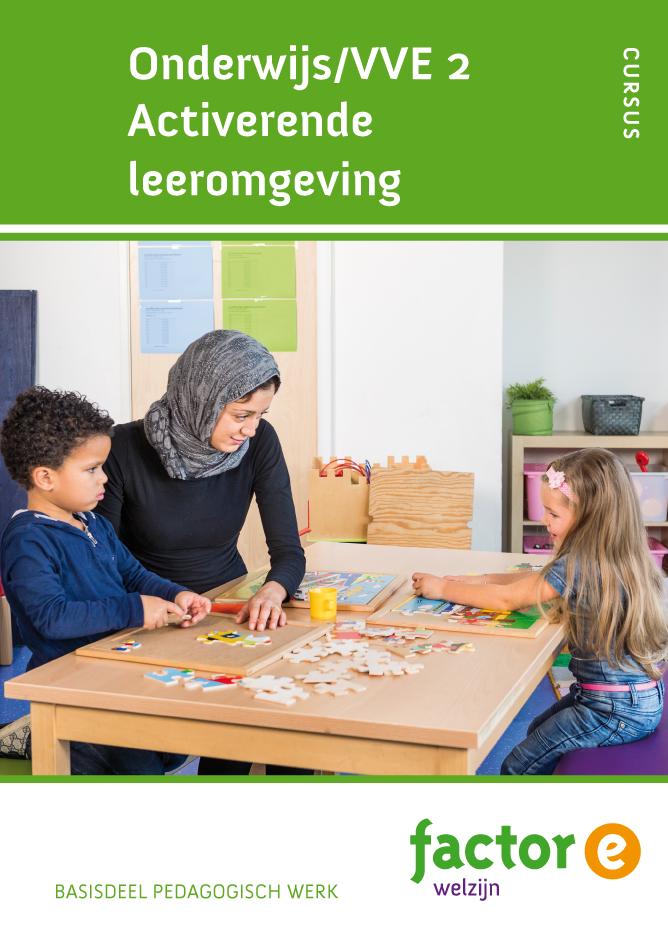 Afbeelding van Onderwijs/VVE 2 activerende leeromgeving