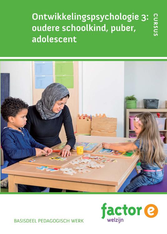 Afbeelding van Ontwikkelingspsychologie 3: Oudere schoolkind, puber, adolescent