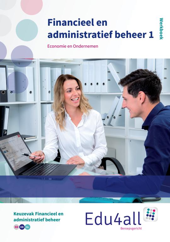 Afbeelding van Financieel en administratief beheer 1 | Keuzevak Financieel en administratief beheer