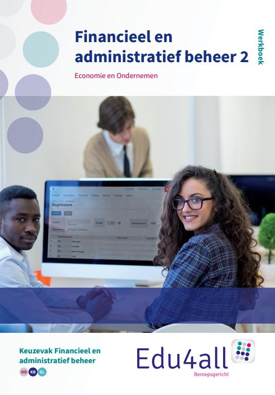 Afbeelding van Financieel en administratief beheer 2 | Keuzevak Financieel en administratief beheer