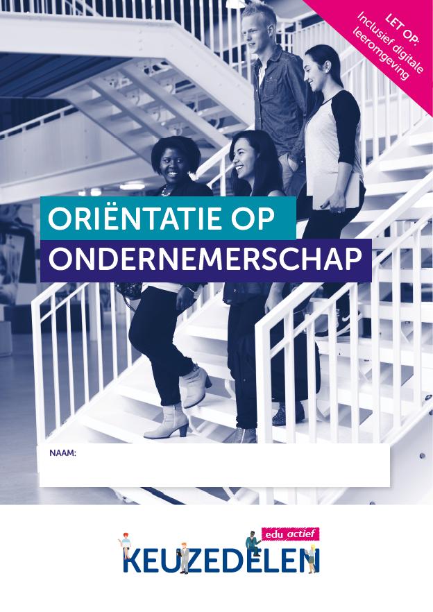 Afbeelding van Keuzedeel Oriëntatie op ondernemerschap | combipakket