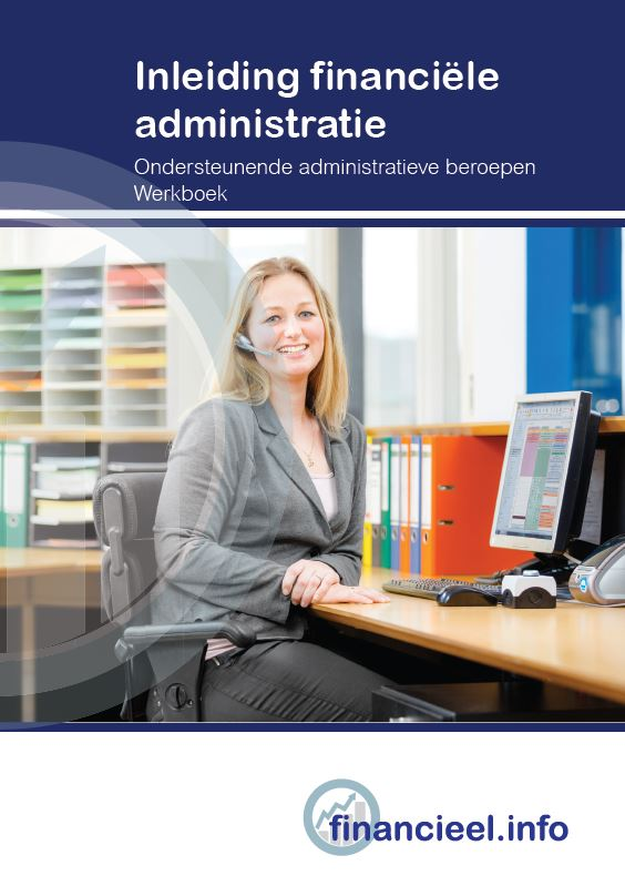 Afbeelding van Inleiding financiële administratie - werkboek