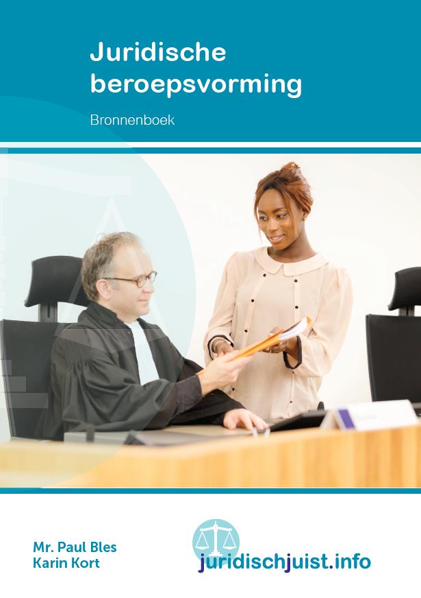 Afbeelding van Juridische beroepsvorming