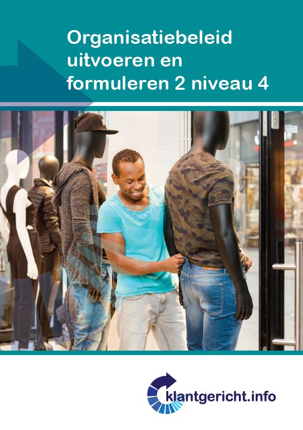 Afbeelding van Organisatiebeleid uitvoeren en formuleren 2 - niveau 4