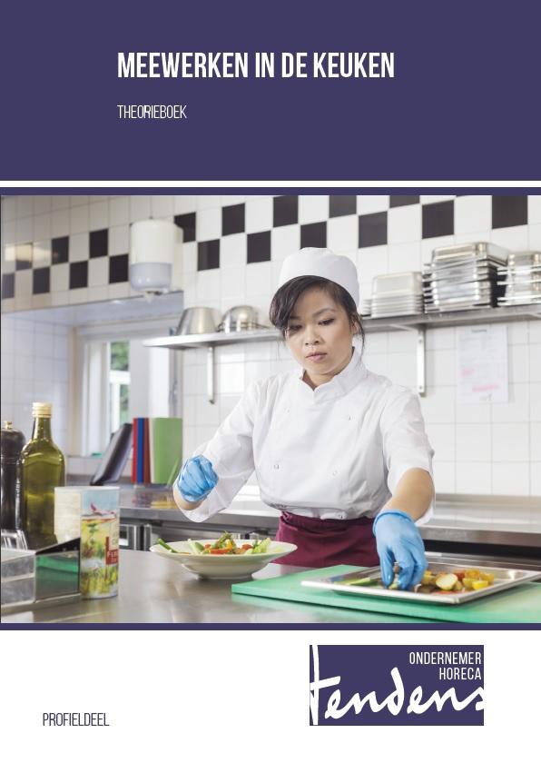 Afbeelding van Meewerken in de keuken - theorieboek   Editie 2018