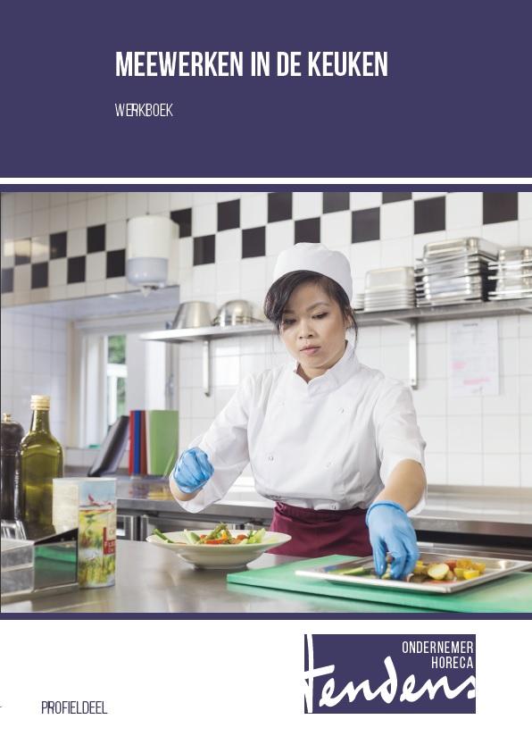 Afbeelding van Meewerken in de keuken - werkboek   Editie 2018