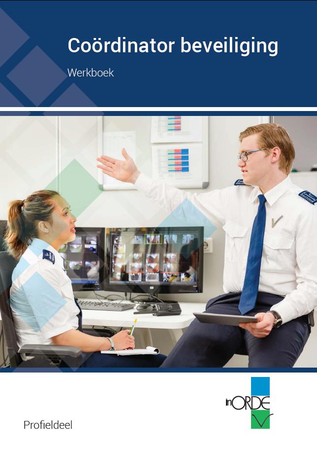 Afbeelding van Coördinator beveiliging Werkboek | profieldeel