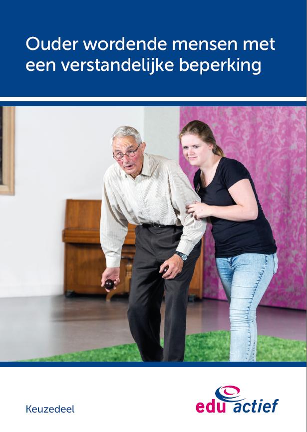 Afbeelding van Keuzedeel Ouder wordende mensen met een verstandelijke beperking | combipakket