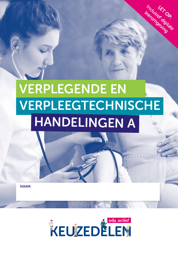 Afbeelding van Keuzedeel Verplegende en verpleegtechnische handelingen A   combipakket