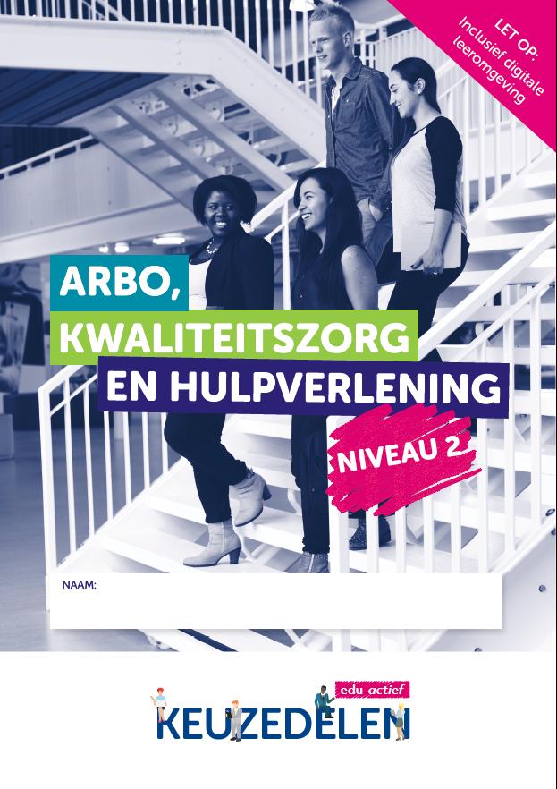 Afbeelding van Keuzedeel Arbo, kwaliteitszorg en hulpverlening niveau 2 | combipakket