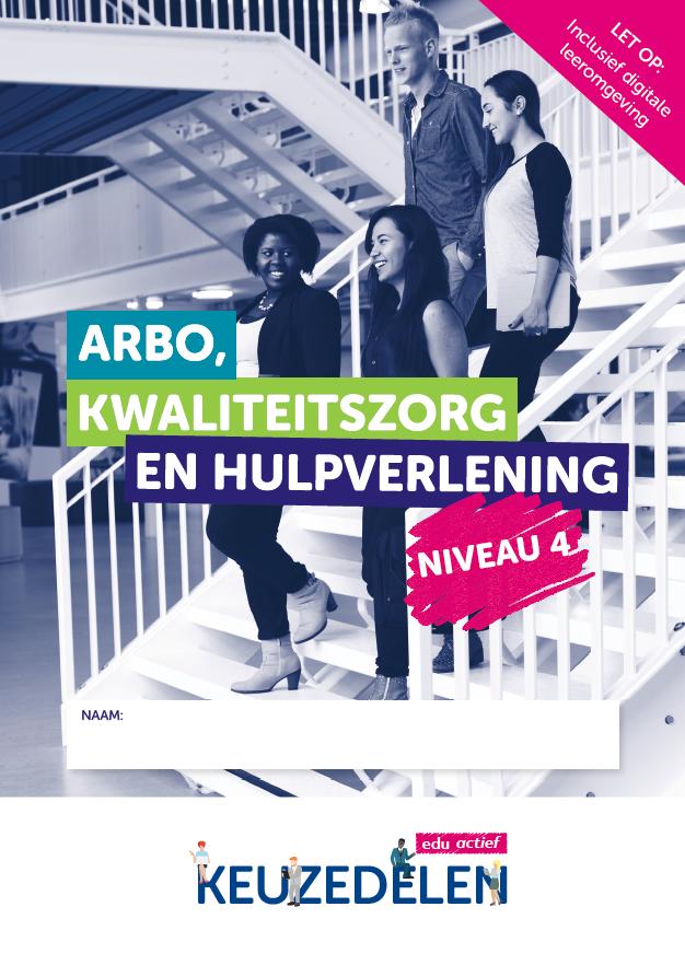 Afbeelding van Keuzedeel Arbo, kwaliteitszorg en hulpverlening niveau 4 | combipakket