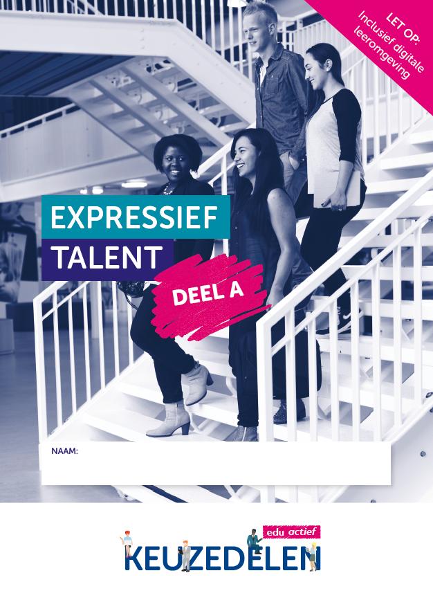 Afbeelding van Keuzedeel Expressief talent deel A | combipakket