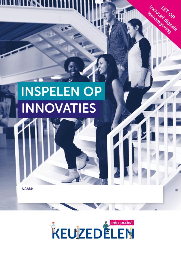 Afbeelding van Keuzedeel Inspelen op innovaties   combipakket