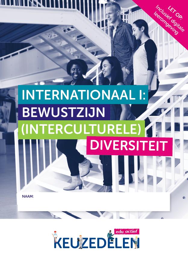 Afbeelding van Keuzedeel Internationaal 1: bewustzijn (interculturele) diversiteit | combipakket