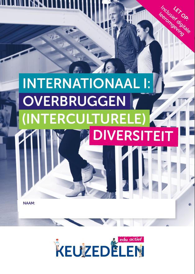 Afbeelding van Keuzedeel Internationaal 1: overbruggen (interculturele) diversiteit | combipakket