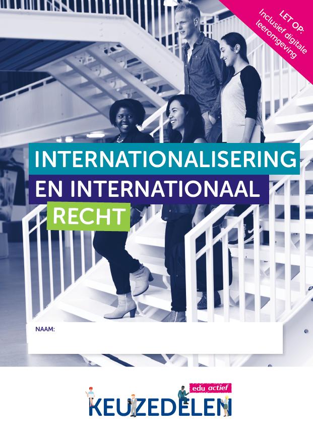 Afbeelding van Keuzedeel Internationalisering en internationaal recht   combipakket