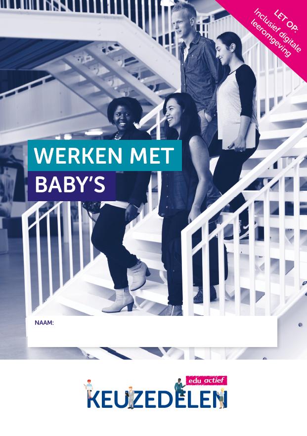 Afbeelding van Keuzedeel Werken met baby's | combipakket