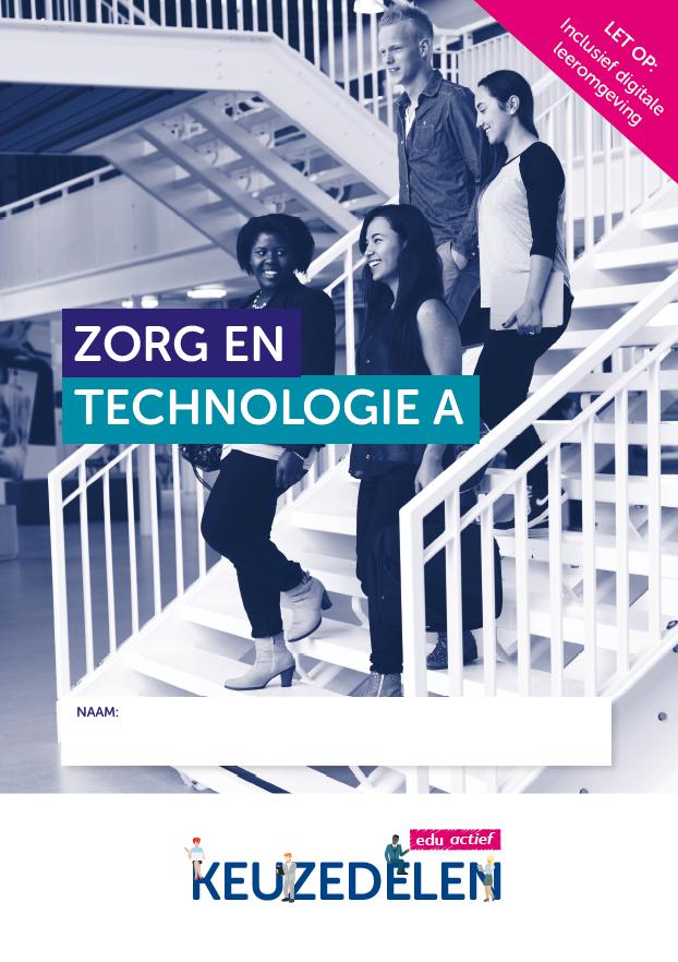 Afbeelding van Keuzedeel Zorg en technologie deel A  | combipakket