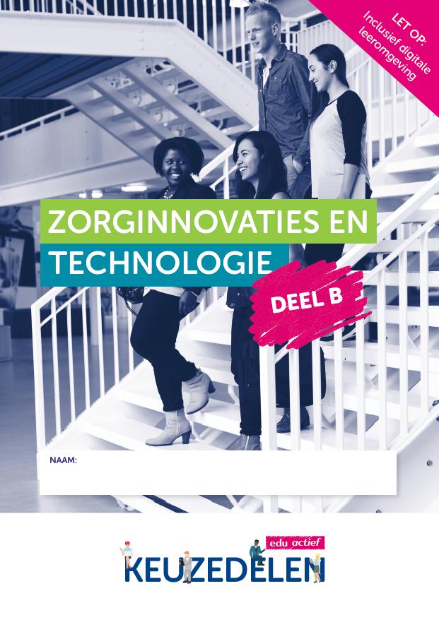 Afbeelding van Keuzedeel Zorginnovaties en technologie deel B  | combipakket
