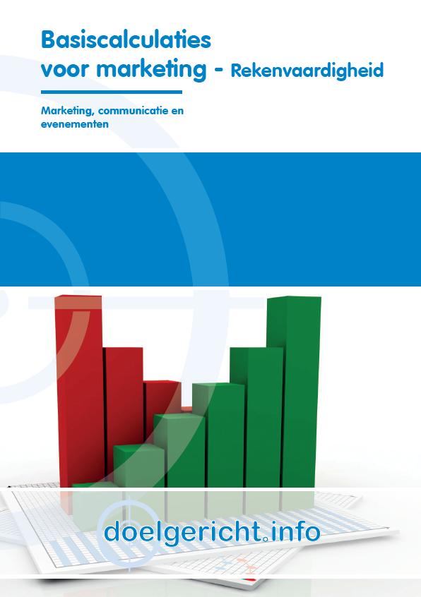 Afbeelding van Basiscalculaties voor marketing   Rekenvaardigheid
