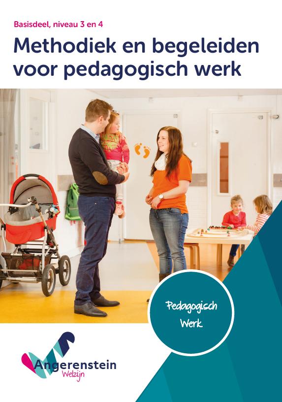 Afbeelding van Methodiek en begeleiden voor pedagogisch werk   combipakket