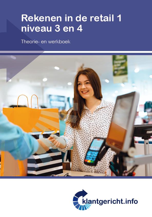 Afbeelding van Rekenen in de retail 1 - niveau 3 en 4