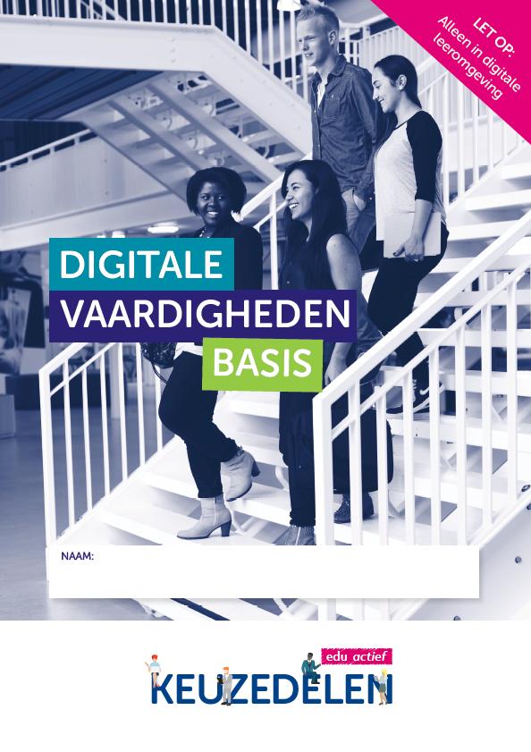 Afbeelding van Keuzedeel Digitale vaardigheden basis