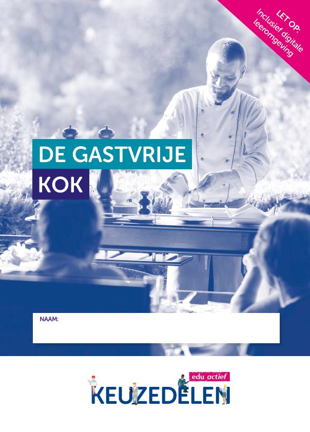 Afbeelding van Keuzedeel Gastvrije kok | combipakket