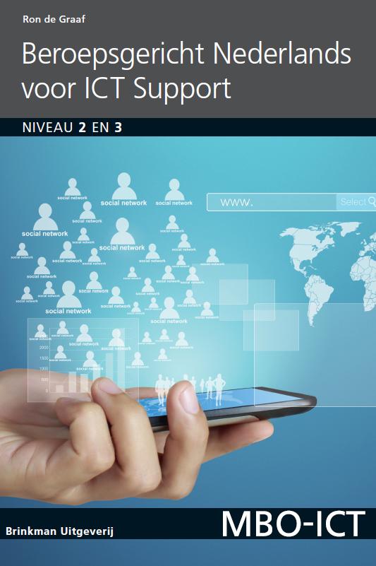 Afbeelding van Beroepsgericht Nederlands voor ICT support / deel Niveau 2 en 3