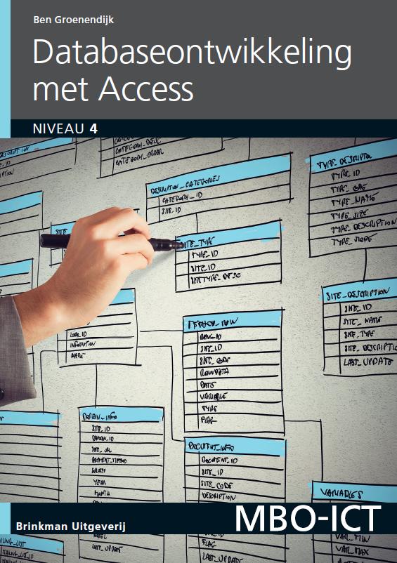 Afbeelding van Database-ontwikkeling met Access / deel 2010