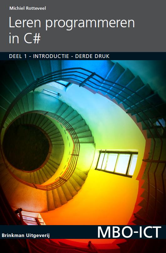 Afbeelding van Programmeren in C# / deel 1 / druk 3