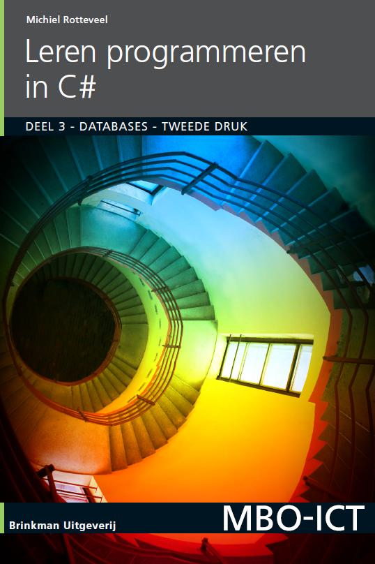 Afbeelding van Leren programmeren in C#, deel 3, Databases / druk 2