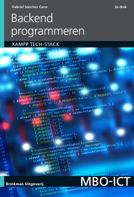 Afbeelding van Backend programmeren / druk 2