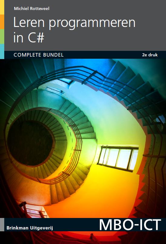 Afbeelding van Leren programmeren in C#, complete bundel / druk 2