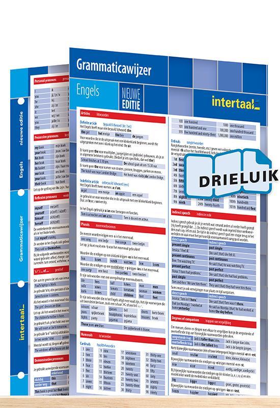 Afbeelding van Grammaticawijzer Engels - nieuwe editie uitklapkaart