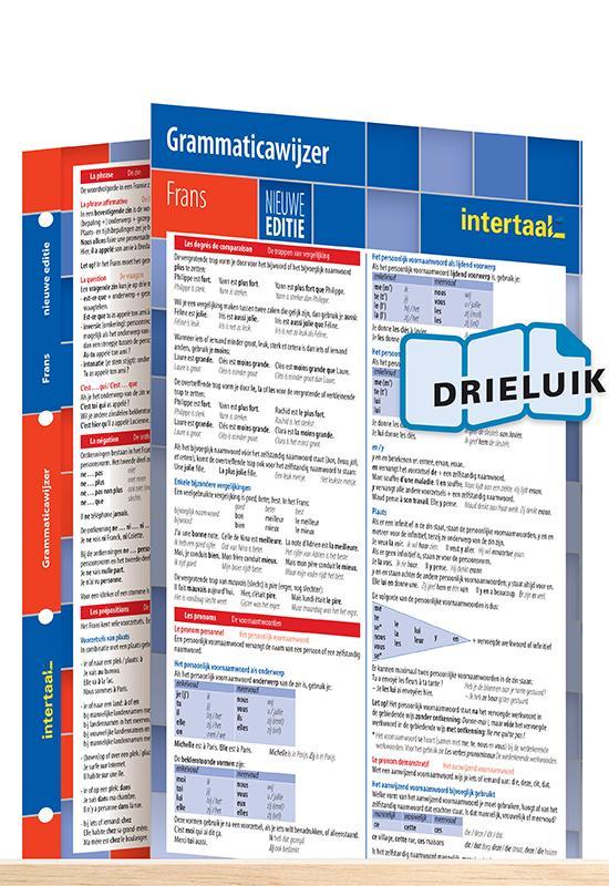 Afbeelding van Grammaticawijzer Frans - nieuwe editie uitklapkaart