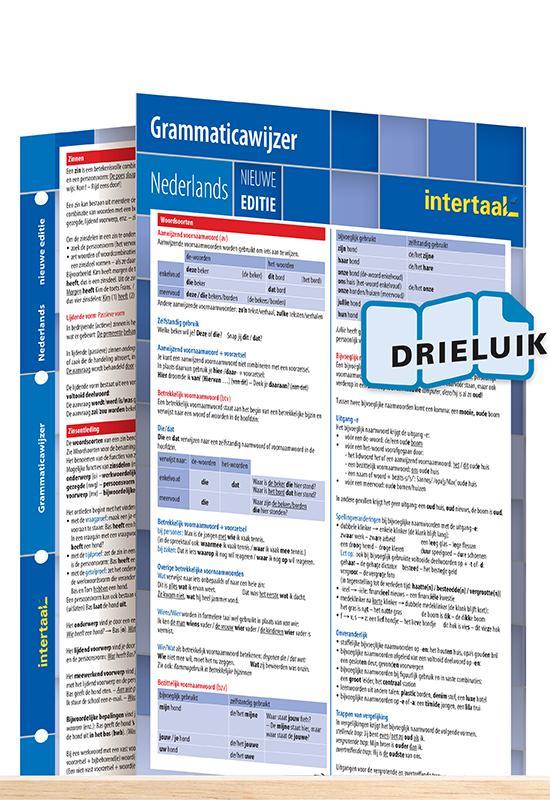 Afbeelding van Grammaticawijzer Nederlands - nieuwe editie uitklapkaart
