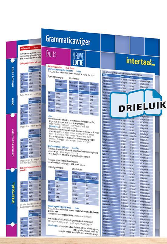 Afbeelding van Grammaticawijzer Duits - nieuwe editie uitklapkaart