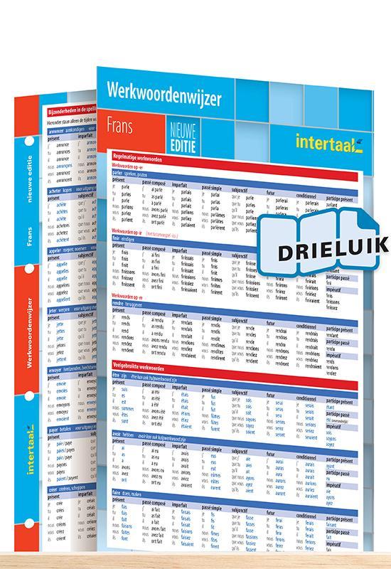 Afbeelding van Werkwoordenwijzer Frans - nieuwe editie uitklapkaart